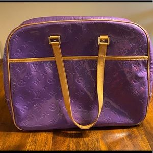 LOUIS VUITTON M91081 Vernis Sutton Bag